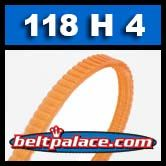 118H4 Poly-V Belt. Metric 4-PH300 Motor Belt.