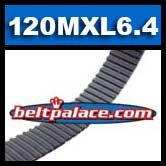120MXL6.4G Metric Timing belt. SAE 96MXL025.