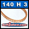 Bando 140H3 Poly-V Belt. Metric 3-PH356 Motor Belt.