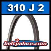 310J2 Poly-V Belt, Industrial Grade. Metric 2-PJ787 Motor Belt.