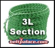 3L SECTION Link V Belt. Sold as Spool of 100 Feet Length
