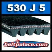 530J5 Poly-V Belt, Metric 5-PJ1346 Motor Belt.