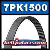 BANDO 7PK1500 Metric Serpentine Belt