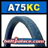 BANDO A75-KC UltraPower AG V-Belt (Kevlar Covered)