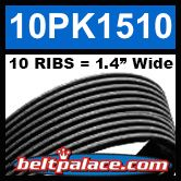 10PK1510 Automotive Serpentine Belt