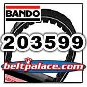 203599 (A-DF) BANDO Hi-Performance belt for Comet 30 series. OEM Comet Industries Belt 994-130.