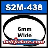 60-S2M-438 Synchronous belt