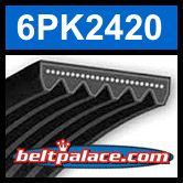 6PK2420 Automotive Serpentine Belt