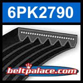 6PK2790 Automotive Serpentine Belt