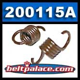 "Comet 200115A Brown Clutch Springs. Pack of 2. Standard ""Brown"" springs for 350 Series Clutch. 2200/2400 engagement."