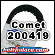 COMET 200419 (A-DF), Comet Industries belt 883-70