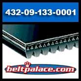 Delta 432-09-133-0001 Drive Belt Replacement