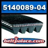 Delta 5140089-04 RIbbed V-Belt for Power Tools