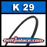 K29 Metric V Belt. BANDO K29/K737 Industrial V-Belt.