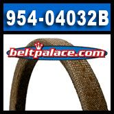954-04032B, Stens 265-252 OEM Spec Replacement Belt.