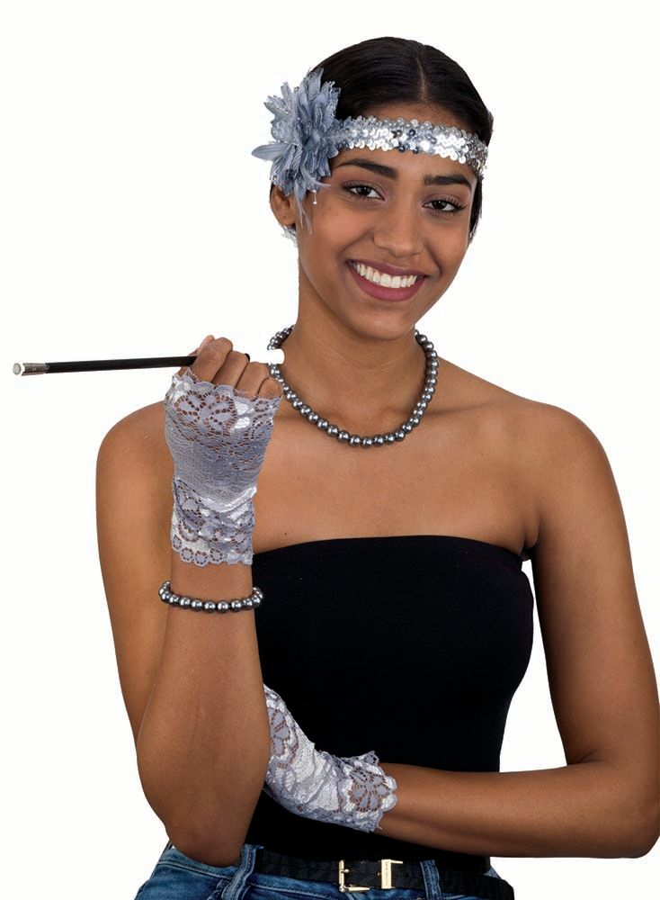Brand New Flapper 1920s Sequin Headband Accessory