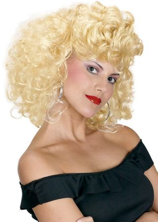50's Cool Girl Blonde Wig