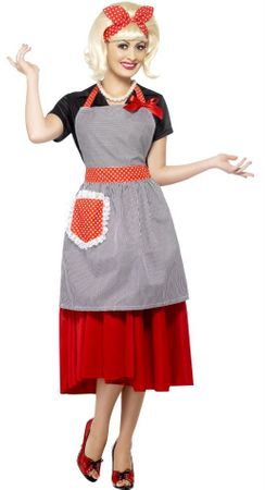 50's Housewife Honey Costume Kit