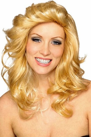 70's Angel Blonde Wig