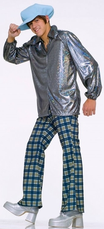 70's Wacky Guy Adult Costume, Size M/L