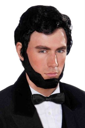 Abraham Lincoln Wig  Beard