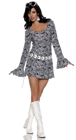 Adult 60's Fab Girl Costume