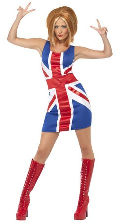 Adult 60's Union Jack Dress