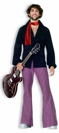 Adult 70's Rock Star Costume, Size M/L