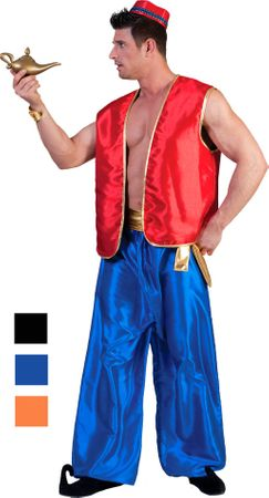 Adult Arabian Nights Genie Vest - More Colors