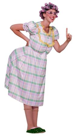 Adult Aunt Gertie Old Lady Costume
