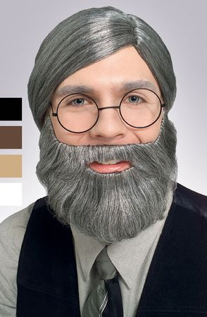 Adult Beard and Mustache - More Colors