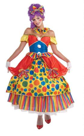 Adult Belle of the Big Top Clown Costume