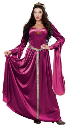 Adult Berry Lady Guinevere Renaissance Costume