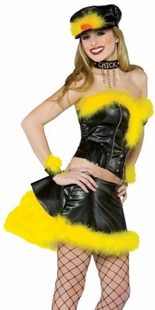 Adult Biker Chick Costume