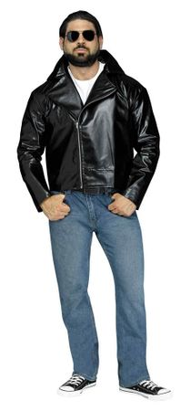 Adult Black 50's Rock 'N' Roll Jacket