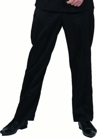 Adult Black Costume Pants