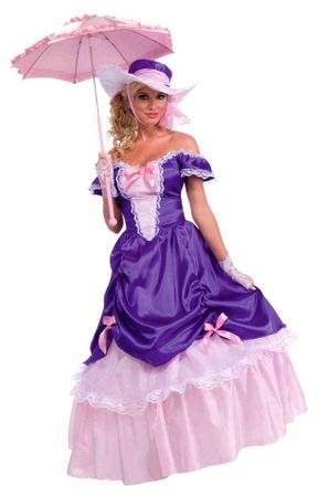 Adult Blossom Southern Belle Costume, Size M/L