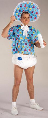 Adult Blue Baby Boomer Costume