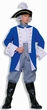 Adult Blue/Gray Colonial General Costume, Size M/L