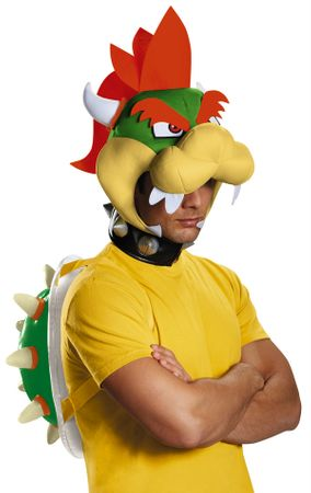 Adult Bowser Super Mario Brothers Costume Kit