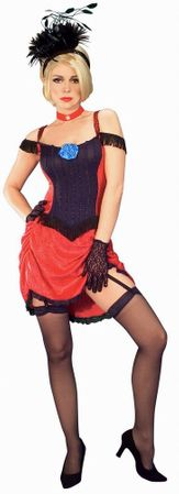 Adult Can Can Dancer Costume - More Colors