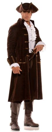 Plus Size Captain Barrett Colonial Pirate Costume