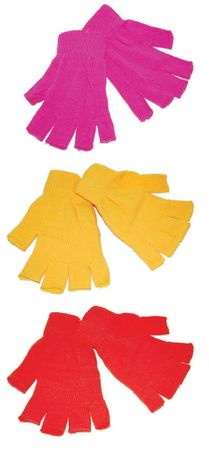 Adult/Child Acrylic Fingerless Gloves