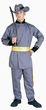 Adult Civil War Southern Officer Costume, Size M/L