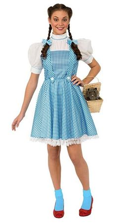 Adult Classic Wizard of Oz Dorothy Costume
