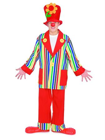 Adult Clownin' Around Costume, Size M/L