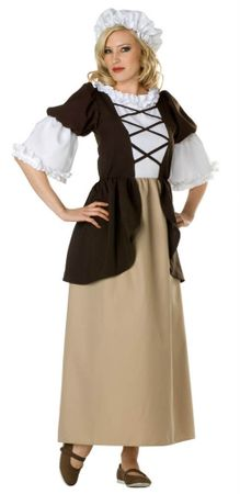 Adult Colonial Lady Costume