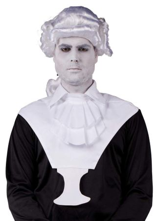 Adult Colonial Man Wig and Jabot