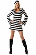Adult Convict Chick Costume, Size Small