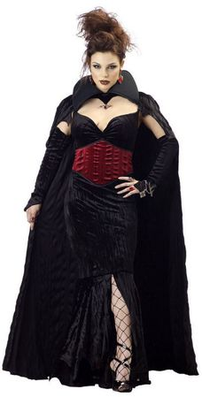 Adult Countess of Mayhem Vampire Costume